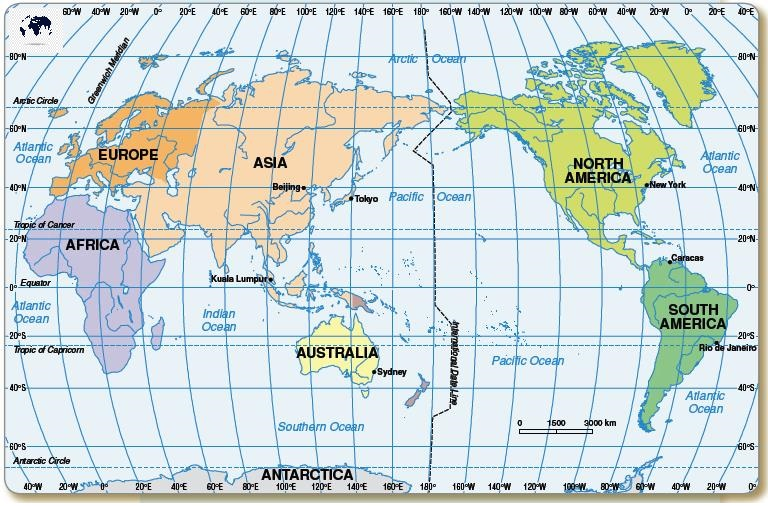 Map-of-World-with-Longitude