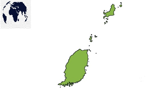Transparent-PNG-Grenada-Map