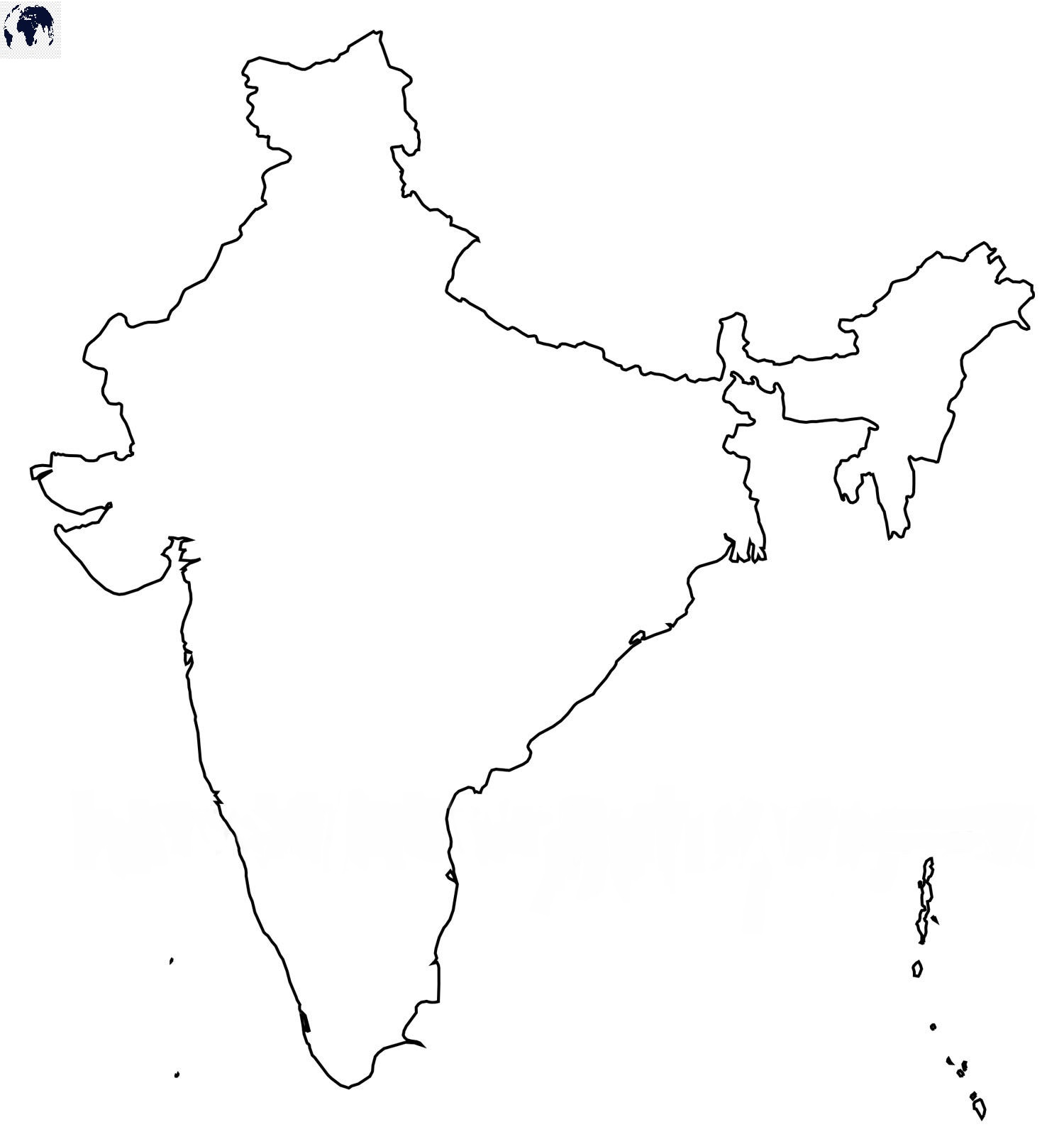 Transparent-PNG-India-Map