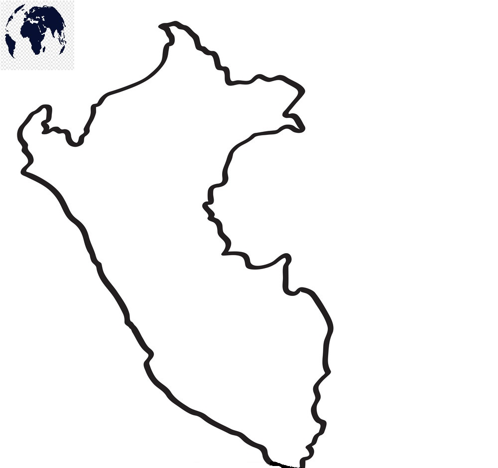 Transparent PNG Peru Map