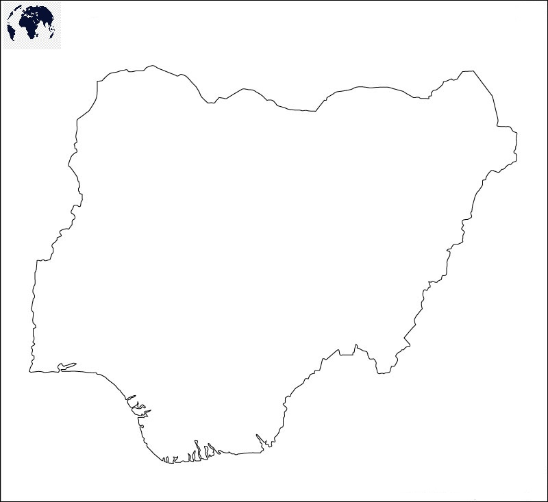 Transparent PNG Nigeria Map