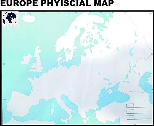 Blank Physical Europe Map – Outline