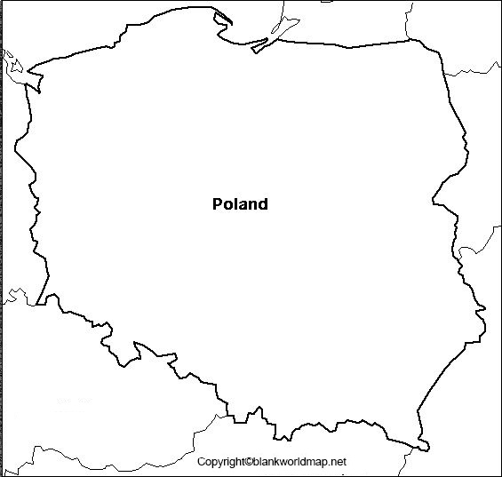 Transparent Poland PNG Map