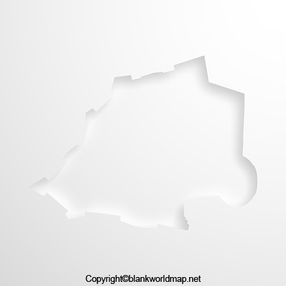 Blank Holy See Map - Outline