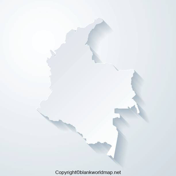 Printable Map of Colombia