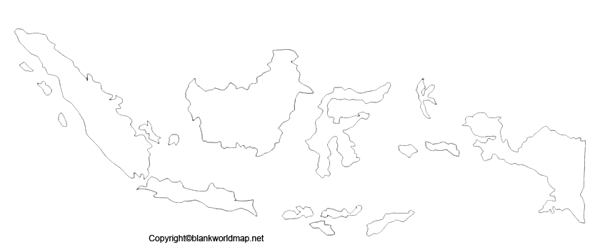 Transparent Indonesia PNG Map