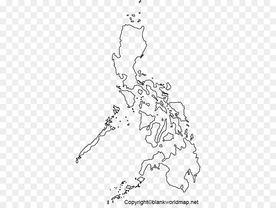 Transparent Philippines PNG Map